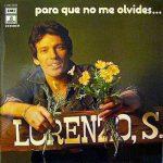 lorenzo santamaria para que no me olvides album
