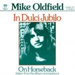 mike oldfield in dulci jubilo on horseback single